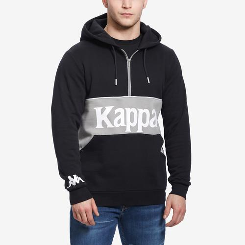 Kappa Authentic 90 Barna Half Zip Hoodie