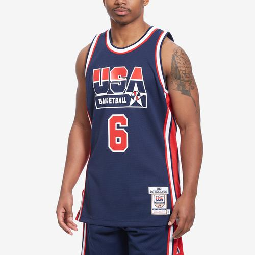 Mitchell + Ness Men's Authentic Jersey Team USA 1992 Patrick Ewing