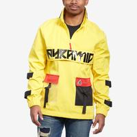 BLACK PYRAMID Men's Clear Pocket Strapped Pullover Jacket