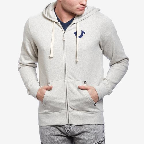 True Religion Buddha Zip Up Hoodie