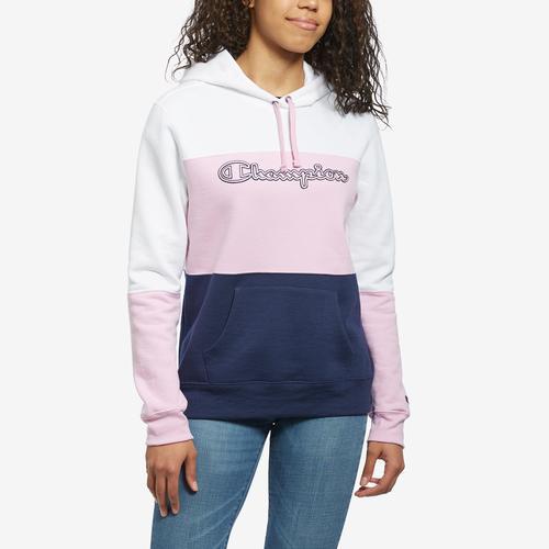 Champion Women's Power Blend Color Block Hoodie