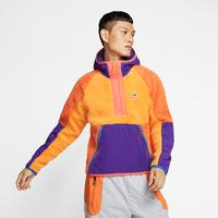 Nike Men's Sportswear 1/2 Zip Sherpa Hoodie