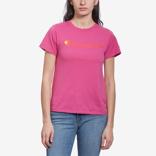 Champion Women's Graphic Jersey Short Sleeve T-Shirt