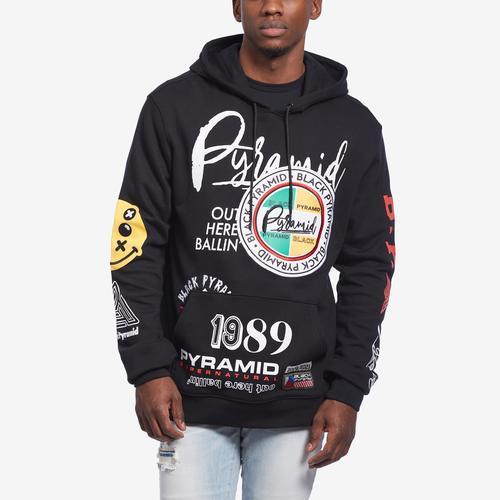 BLACK PYRAMID World Famous Logo Hoody