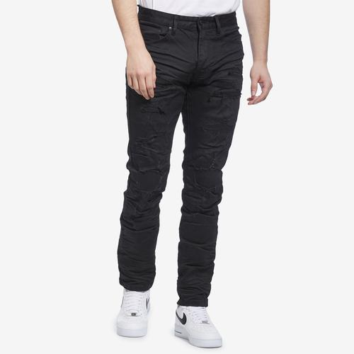 Smoke Rise Men's Fashion Rip & Repair Jeans
