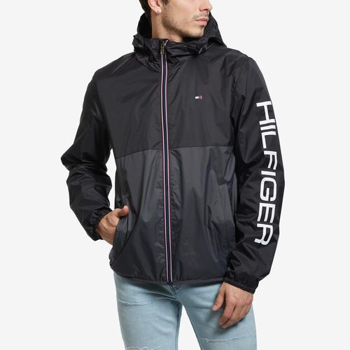 Tommy Hilfiger Men's Essential Colorblock Raincoat