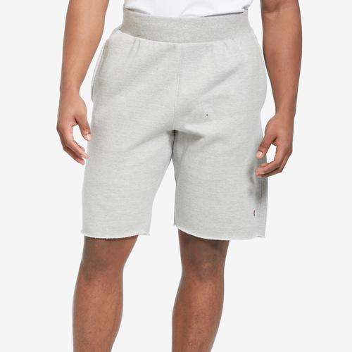 Champion Men's Reverse Weave Cut-Off Shorts, All Over Logo