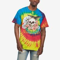 DIAMOND SUPPLY CO. Men's Skull & Crow Tie Dye Tee