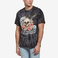 Diamond Supply Co. Men's Skull & Crow Tie Dye Tee