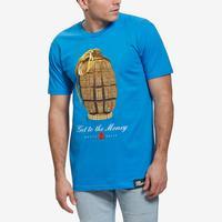 Hasta Muerte Men's Gold Grenade T-Shirt
