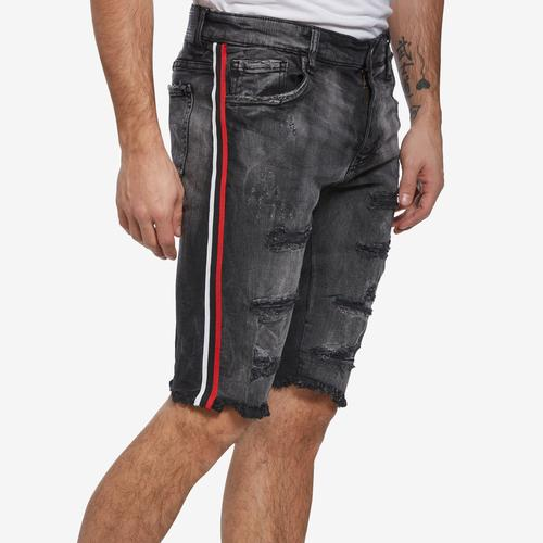 Jordan Craig Men's Side Stripe Denim Shorts