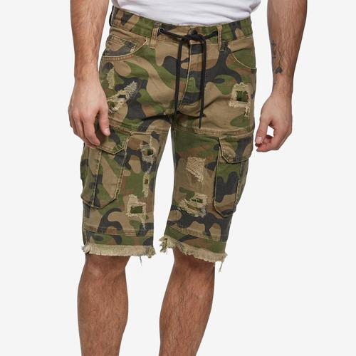 Smoke Rise Men's Basic Twill Cargo Shorts