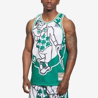Mitchell + Ness Men's Big Face Jersey Boston Celtics
