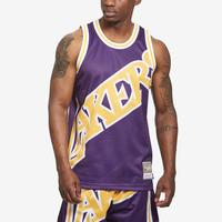 Mitchell + Ness Men's Big Face Jersey Los Angeles Lakers