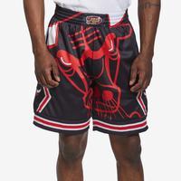 Mitchell + Ness Men's Big Face Shorts Chicago Bulls