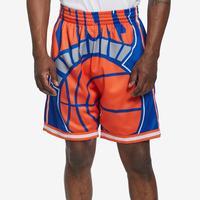 Mitchell + Ness Men's Big Face Shorts New York Knicks