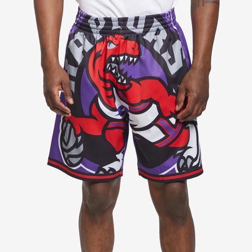 Mitchell + Ness Men's Big Face Shorts Toronto Raptors