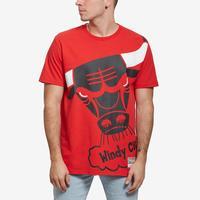 Mitchell + Ness Men's Big Face Tee Chicago Bulls