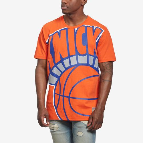Mitchell + Ness Men's Big Face Tee New York Knicks