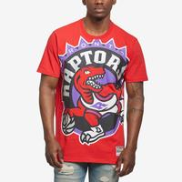 Mitchell + Ness Men's Big Face Tee Toronto Raptors