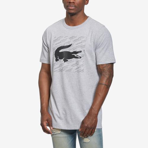 Lacoste Men's Sport Reflective Logo-Print Tee