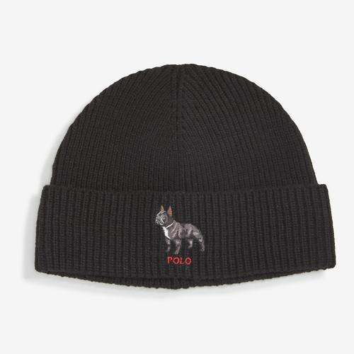 Polo Ralph Lauren Men's Bulldog Knit Hat