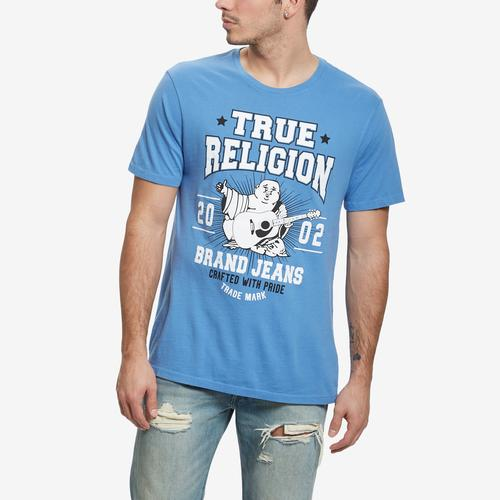 True Religion Men's Buddha Logo Crew Neck Tee