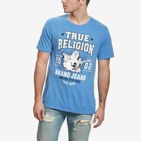 True Religion Men's Buddha Logo Crew Neck Tee