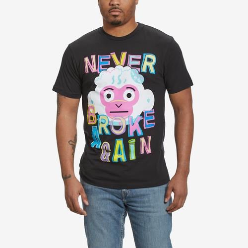 NEVER BROKE AGAIN Men's Monkey Fun T-Shirt