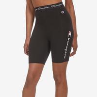 Champion Women's Everyday Bike Shorts, Script Logo