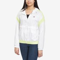 Tommy Hilfiger Women's Logo Zip-Up Windbreaker