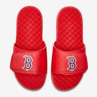 ISlides Men's Boston Red Sox Bandana Logo Slide