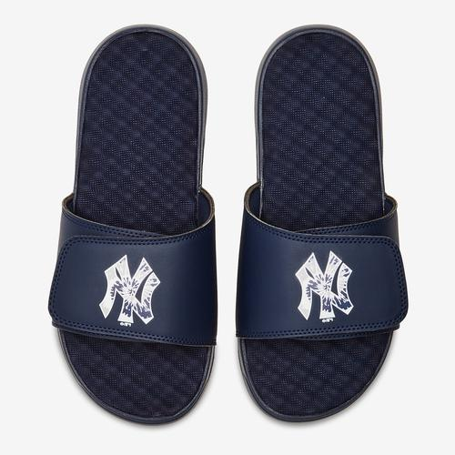 ISLIDE Men's New York Yankees Tie Dye Logo Slide