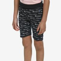 Champion Girl's All Over Print Bike Shorts