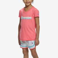 Champion Girl's T-Shirt and Shorts Set