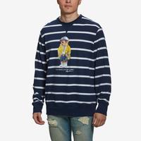 Polo Ralph Lauren Men's Long Sleeve Stripe Fleece