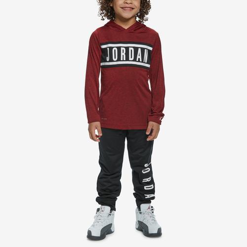 Jordan Boy's Hooded Long Sleeve T-Shirt and Pants