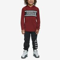 Jordan Boy's Hooded Long Sleeve T-Shirt and Pants