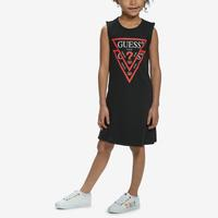 Guess Girl's Double Triangle Logo Dress