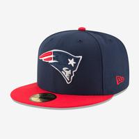 New Era Patriots 59Fifty Fitted