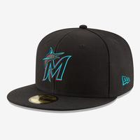 New Era Miami Marlins Authentic Collection 59Fifty Fitted