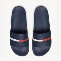 Tommy Hilfiger Men's Classic Flag Slide