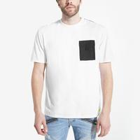 Guess Men's James Nylon Pocket Crewneck Tee