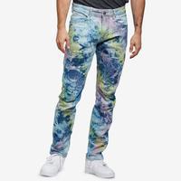 Smoke Rise Men's Fashion Tie Dye Jeans