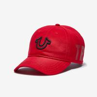 True Religion Vertical Name Dad Hat