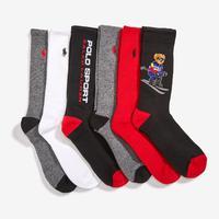 Polo Ralph Lauren Classic Sport Crew Socks (6 Pack)