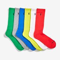 Polo Ralph Lauren Classic Crew Sock (6 Pack)