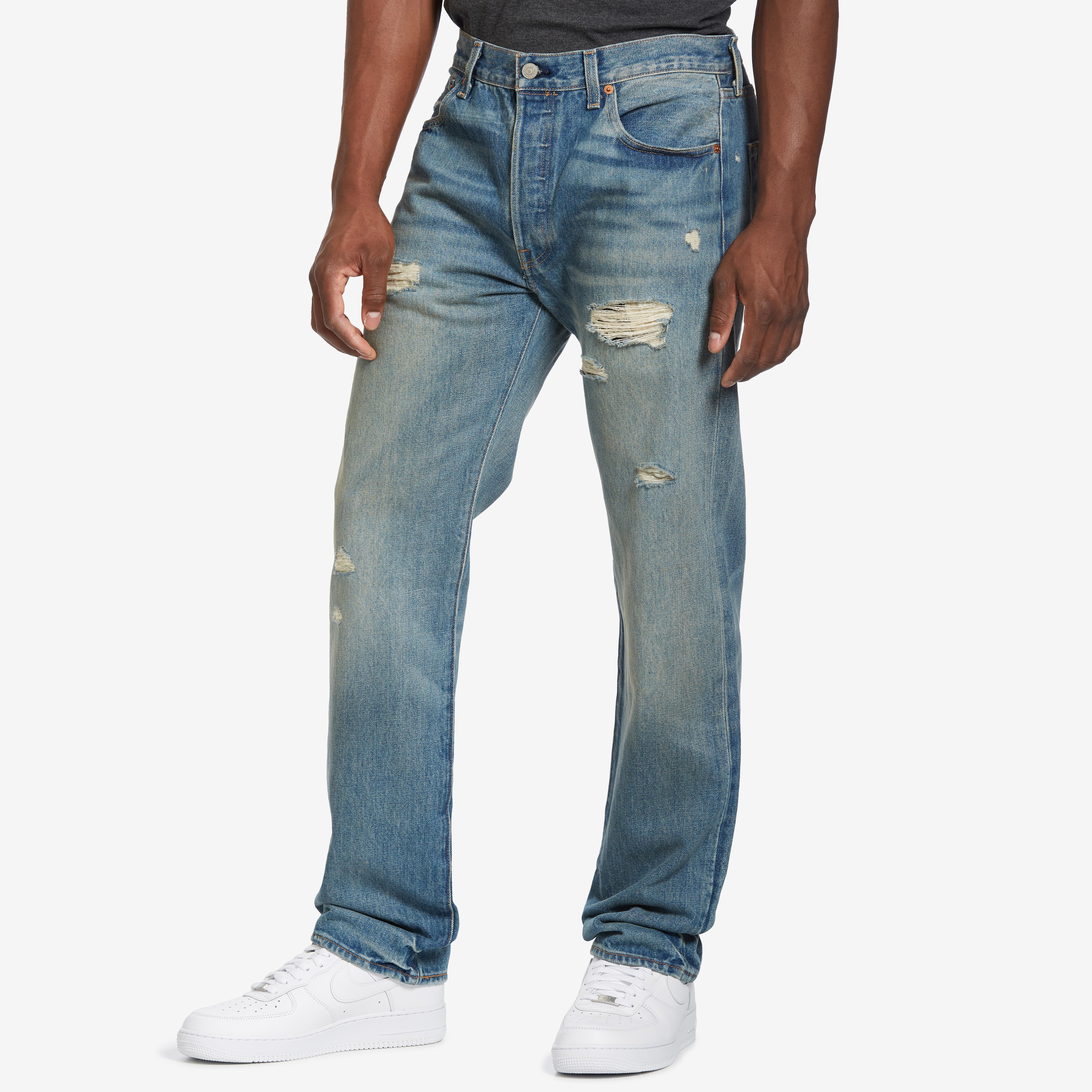 501 Torn Up Jeans