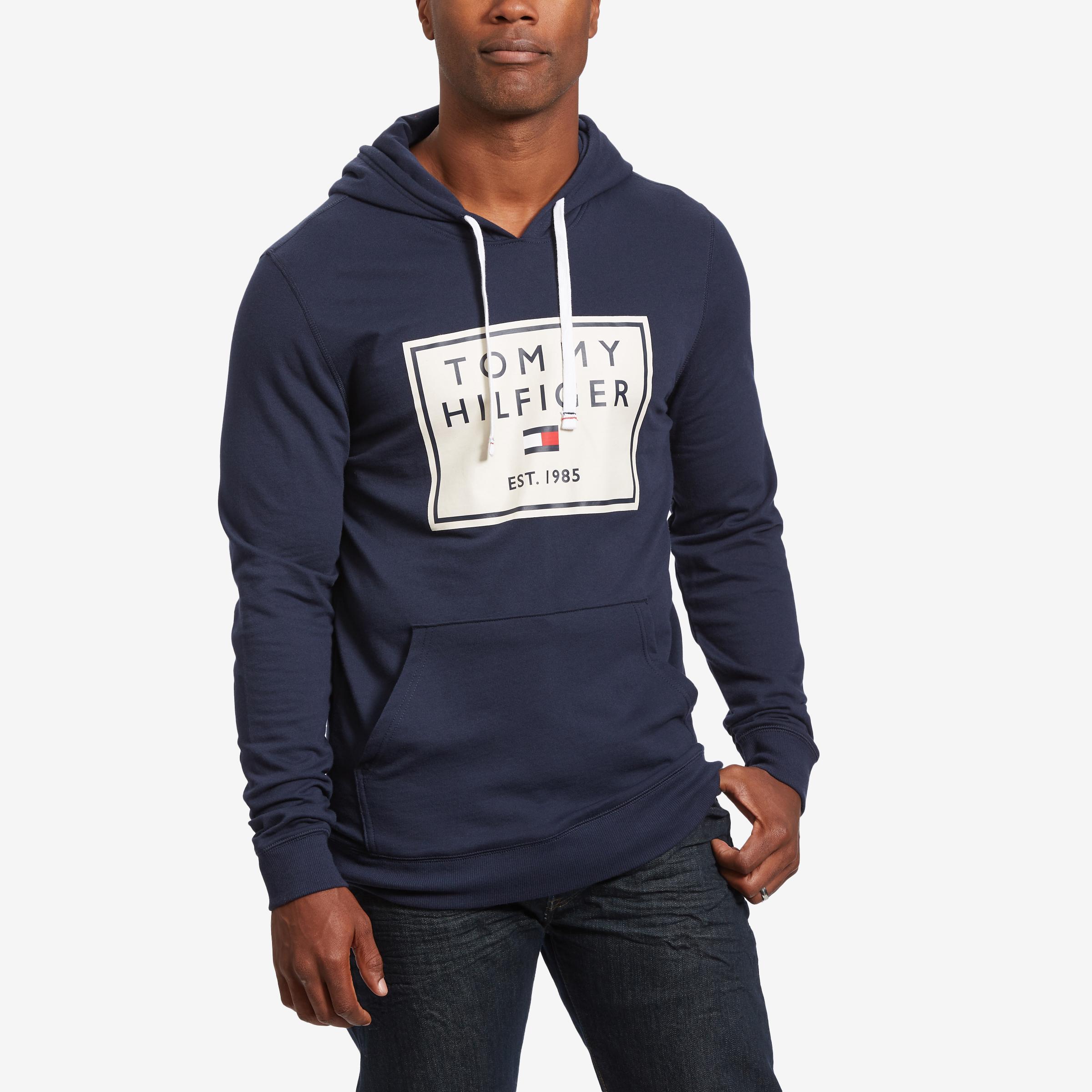 Box Logo Fleece Hoodie
