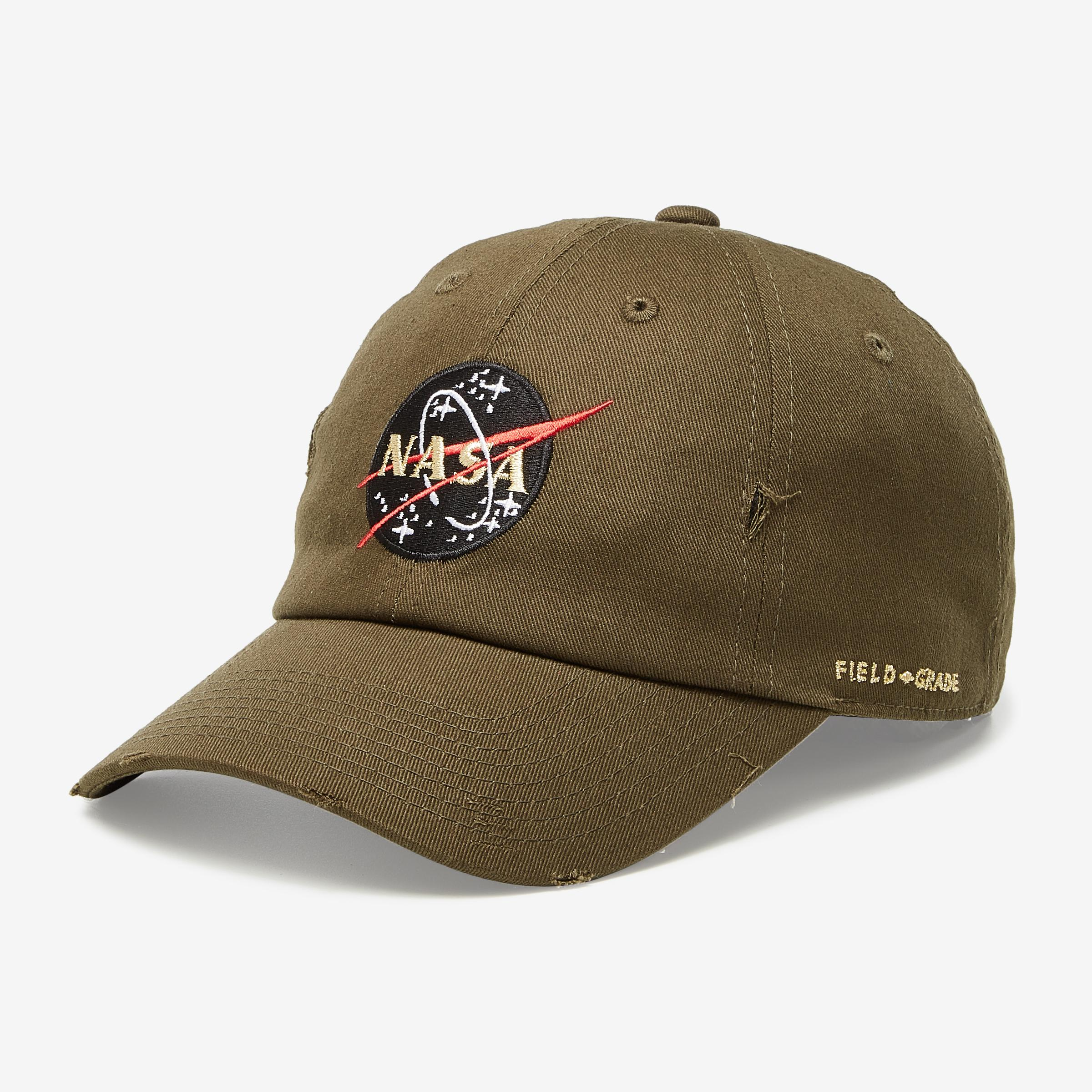 Nasa Kennedy Space Center 50th Anniversary Distressed Hat